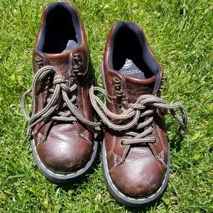 Doc martens 9861 air wear brown leather oxford